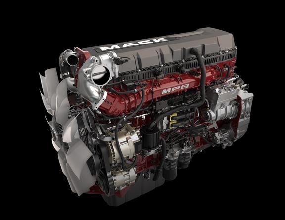 red_mp8_front-3q Mack Mp Engine Starter Wiring Schematic on
